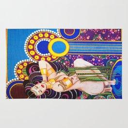 African Klimt Rug
