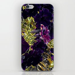 Petunias iPhone Skin
