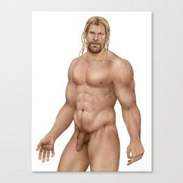 Worthy - long hair Canvas Print