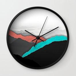 Mountain Highlights Wall Clock