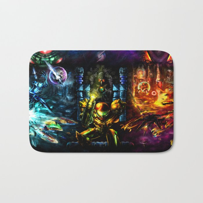 Metroid: 25 Years Bath Mat