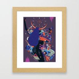 endoftheworld Framed Art Print