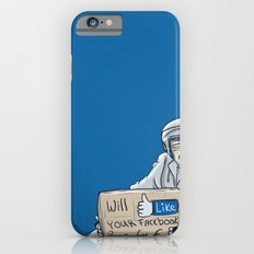 Will like your Facebook page for € iPhone 6s Slim Case