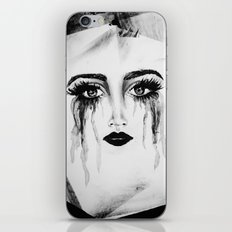 Expressionless Expression iPhone & iPod Skin