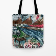I'd Like To Stay / Someone's Disappearance 2 Tote Bag