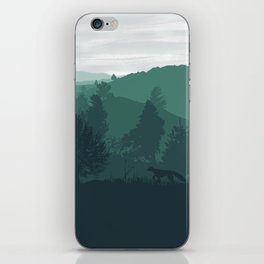 The Baikal Shore iPhone Skin