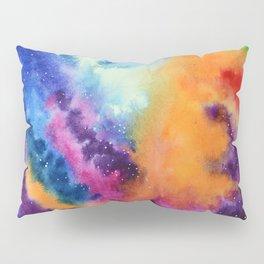 Galaxy lights, colours of Sky Pillow Sham