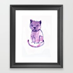 Are You Kitten Me?! Framed Art Print