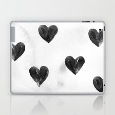 I drew a few hearts for you Laptop & iPad Skin