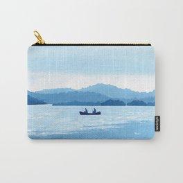Gouache Canoe Ride Carry-All Pouch