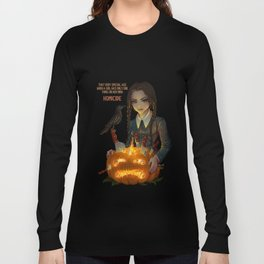 Wednesday Addams - Homicide Long Sleeve T-shirt