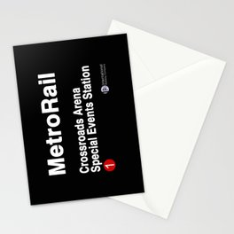 Crossroads Arena Special Events Station Stationery Cards