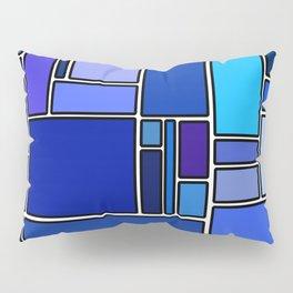50 shades of blue Pillow Sham