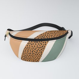 Patterned Rainbow Fanny Pack