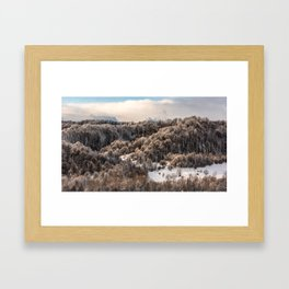 Winter Landscape 3 Framed Art Print