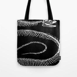 Snake bones | Snake bone | Slithering reptile | Reptiles Tote Bag