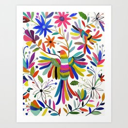 otomi bird Art Print