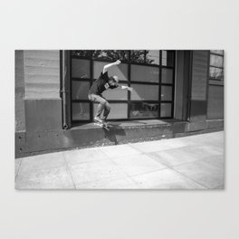 Jeff Shreds Canvas Print