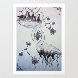 Monogamy Art Print