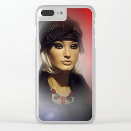 showcased -4- Clear iPhone Case