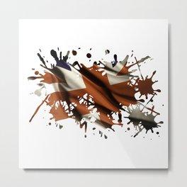Splatter Jack Metal Print