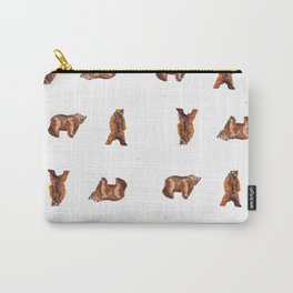 Bear Maze Carry-All Pouch
