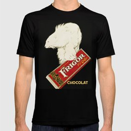 Polar Bear vintage chocolate bar ad T-shirt