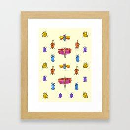Bug Off  Framed Art Print
