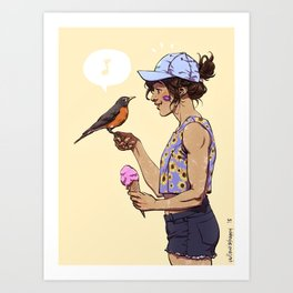 Welcome Back!! Art Print