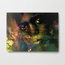 """""""Journey Of The Mind 5"""" Metal Print"""