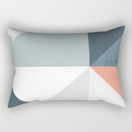 Modern Geometric 12 Rectangular Pillow