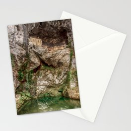 The Holy Cave of Covadonga Stationery Cards