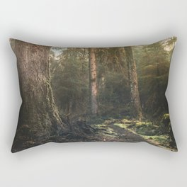Olympic National Park - Pacific Northwest Nature Photography Rectangular Pillow