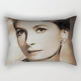 Hollywood Classics, Deborah Kerr, Actress Rectangular Pillow