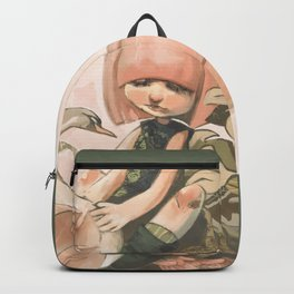 SUSHI SWAN REVISITED Backpack