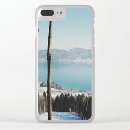 Attersee (13b) Clear iPhone Case