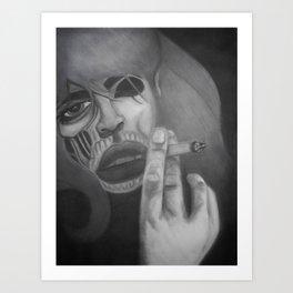 Living dead Girl! Art Print