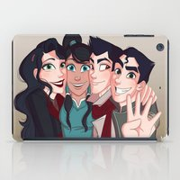 """legend of korra iPad Cases featuring Legend of Korra """"The Krew"""" by Angie Nasca"""