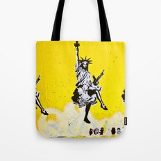Liberty and Friends Tote Bag