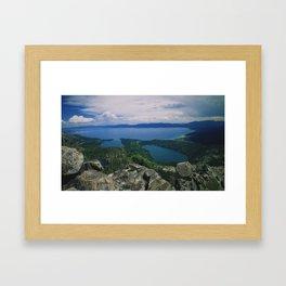 Maggie's Peak Framed Art Print