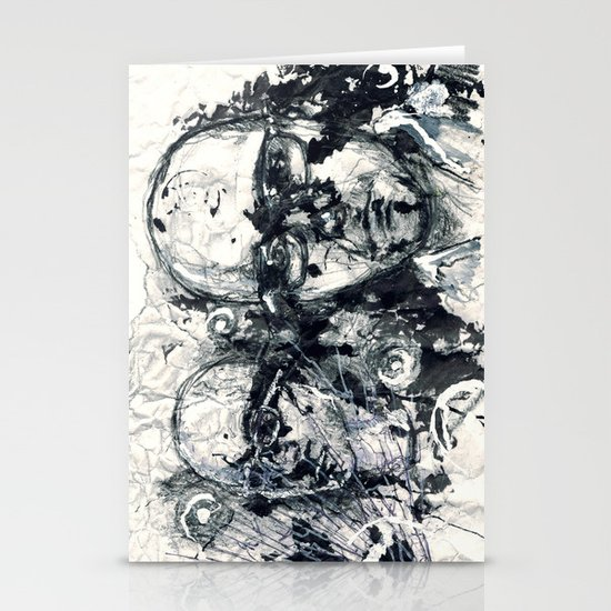 """""""Destroyed"""" by Cap Blackard Stationery Cards"""