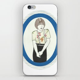 Girl With Braces iPhone Skin