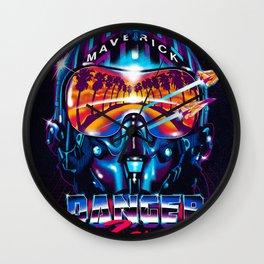 Danger Zone Wall Clock