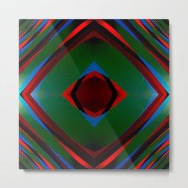 Multi layer abstract art Metal Print