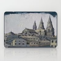 sweden iPad Cases featuring Uppsala Sweden by Alejandro D