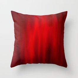 Abstract 4 - Red Strech Throw Pillow