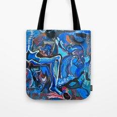 The Blue Cadaver Tote Bag