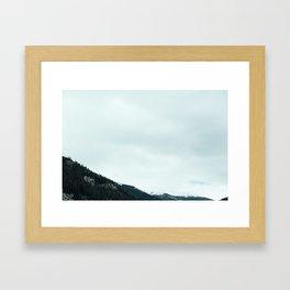 Mountains 02 Framed Art Print