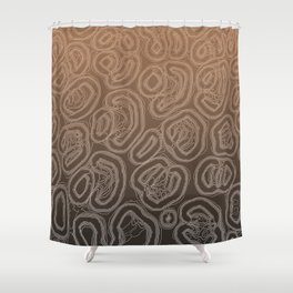 Earthenware Shower Curtain