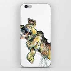Atropellado Dog iPhone & iPod Skin